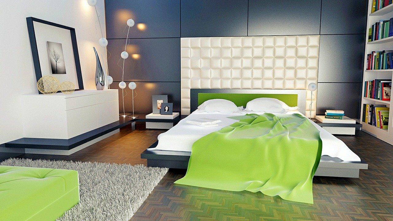 3d interieurontwerp slaapkamer 3