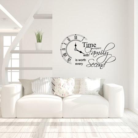Muursticker time spend