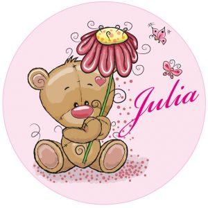 Muursticker Julia