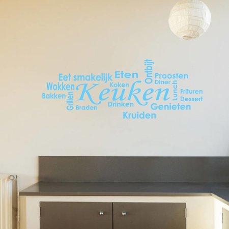 muursticker keuken