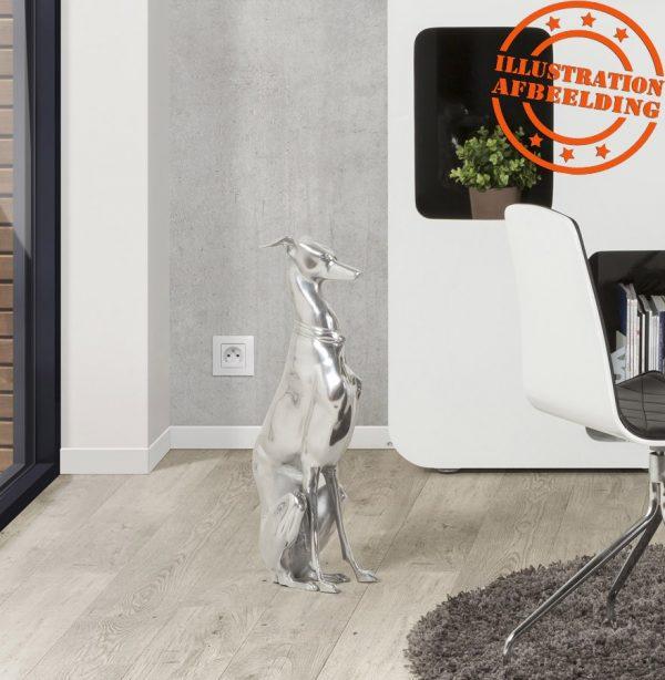 Decoratief standbeeld zittende hond