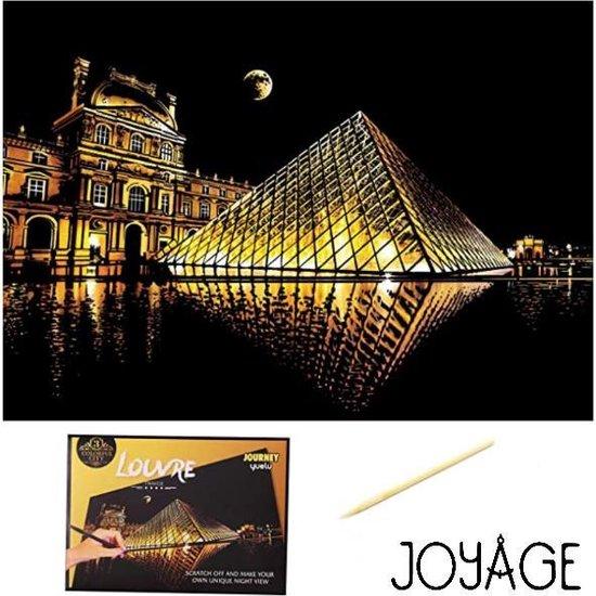 Krastekening Louvre