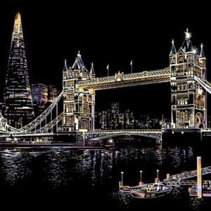 Krastekening london bridge