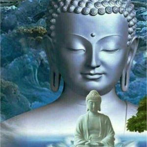 Schilderen op nummer buddha