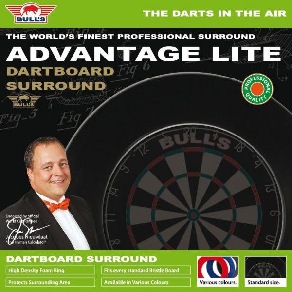 Bull's Dartbord Lite Surround Black